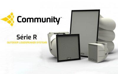 COMMUNITY série R conforme à la norme EVAC EN54