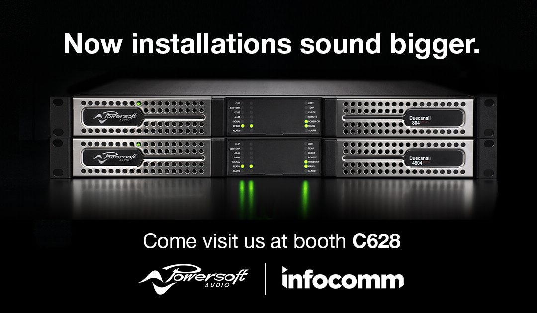 POWERSOFT @ INFOCOMM LAS VEGAS
