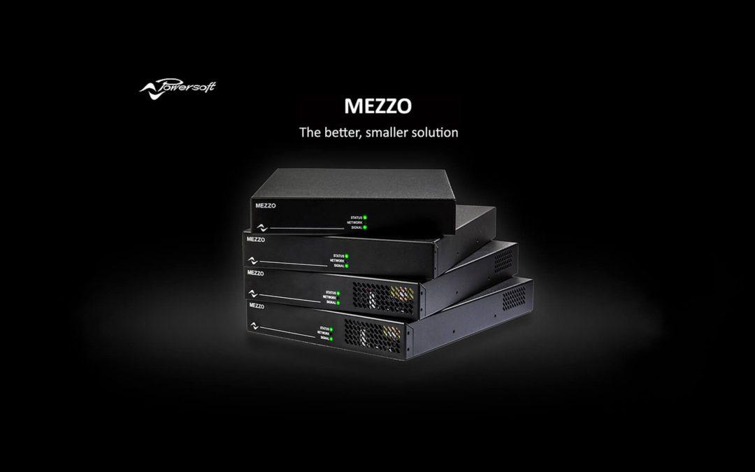 MEZZO amplis dans un format ½ unité