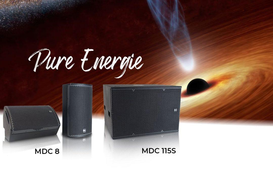 Nouvelle enceinte MDC8, sub MDC115S