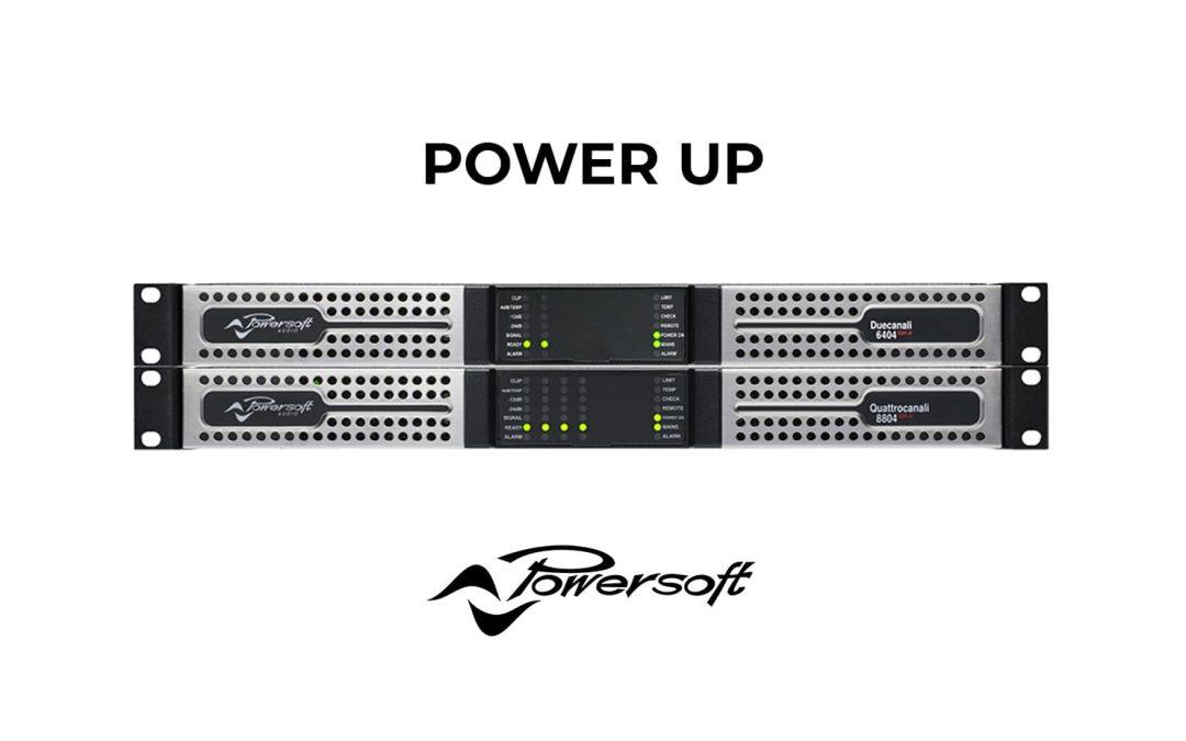 POWERSOFT «toujours plus de puissance»
