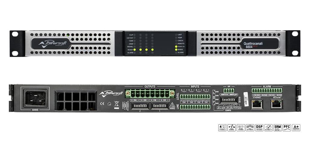 QUATTRO 8804 DSP+D